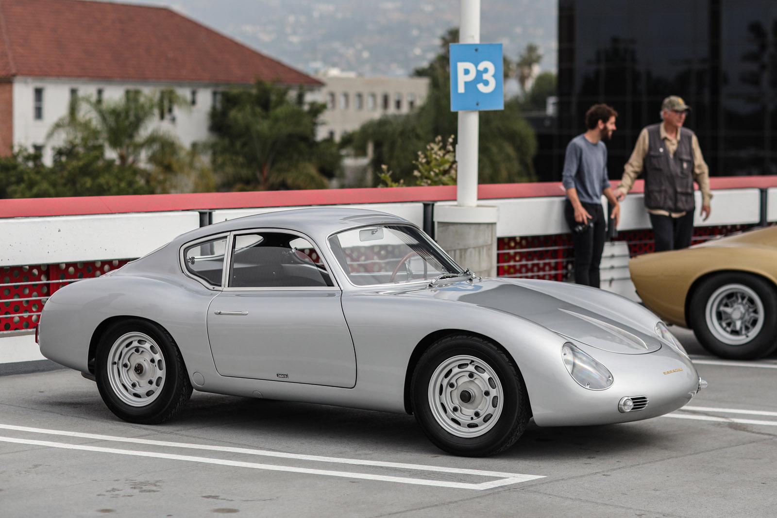 Porsche 356 Zagato Beverly Hills Tour