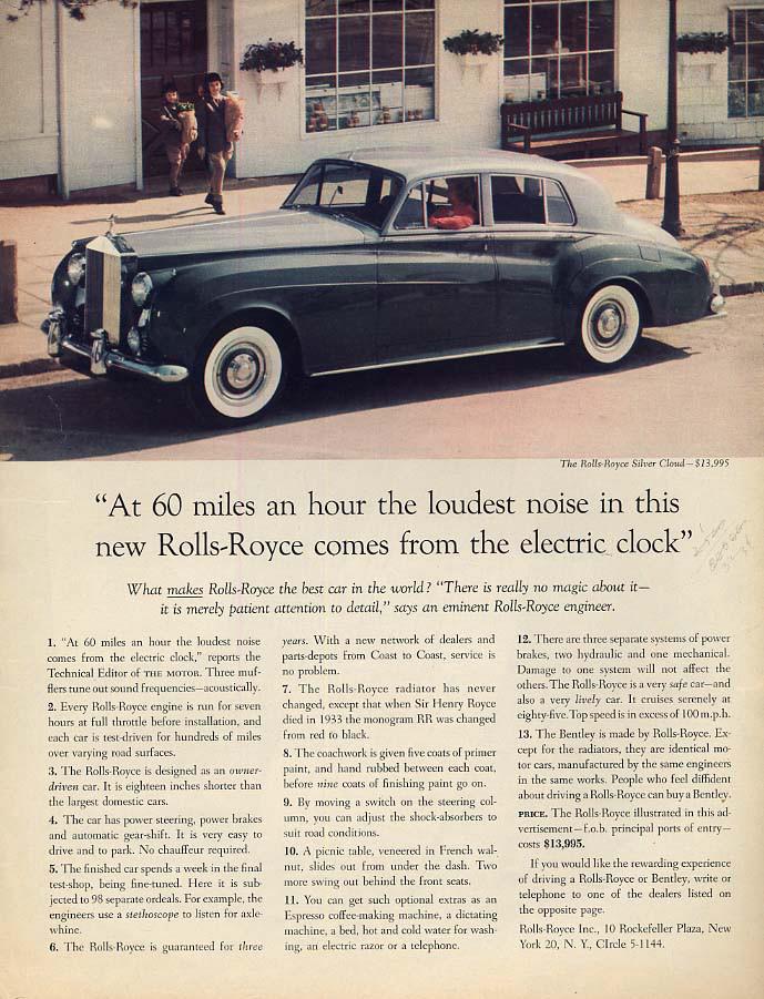 Rolls-Royce vintage ad