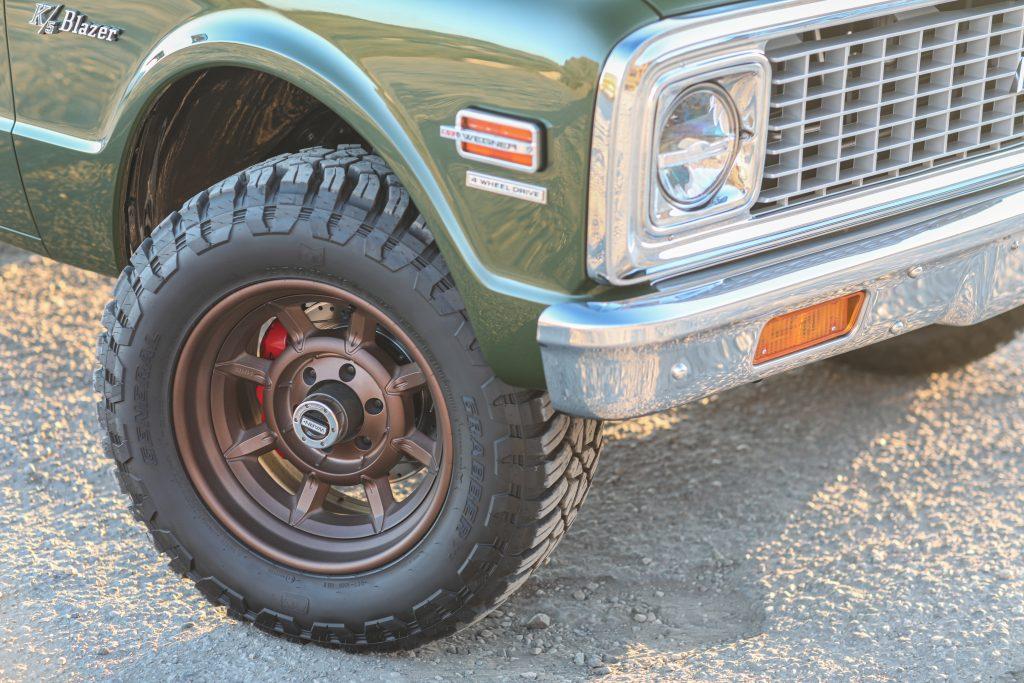 K5 Blazer tire
