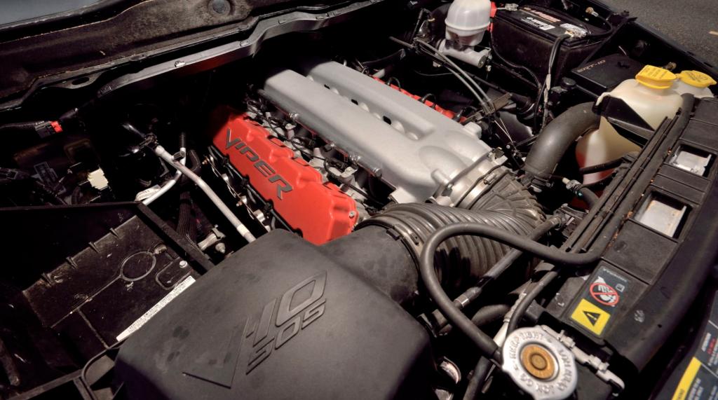 Dodge Ram SRT-10 engine bay