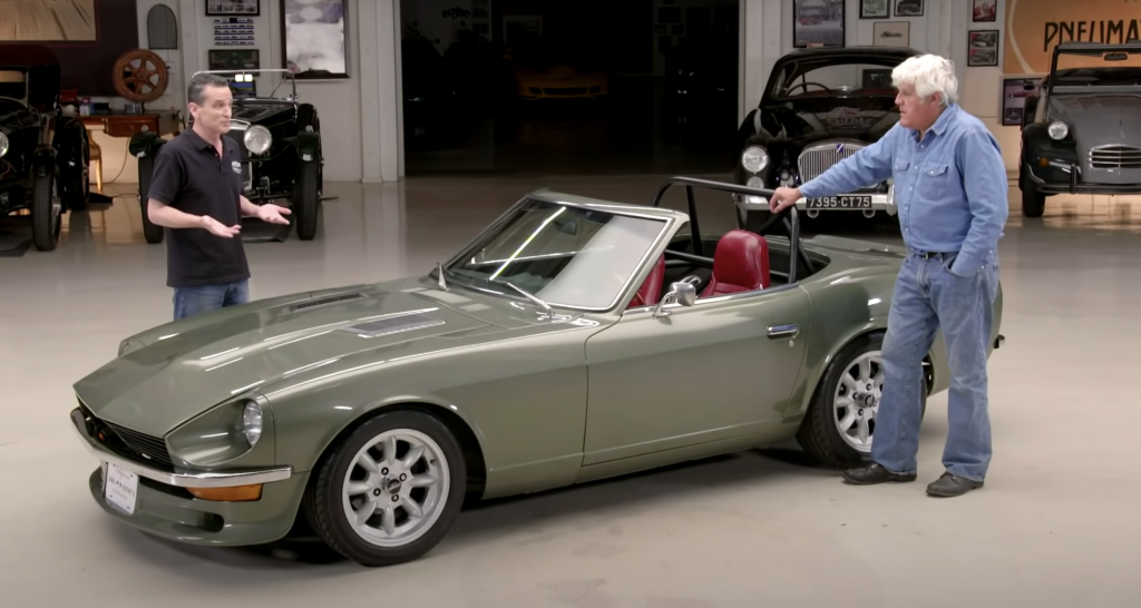 Jay Leno's garage Datsun 580Z