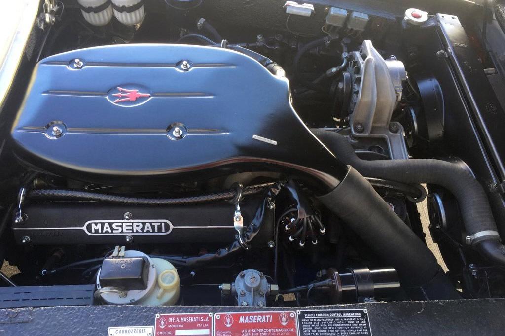 Sinatra Maserati engine