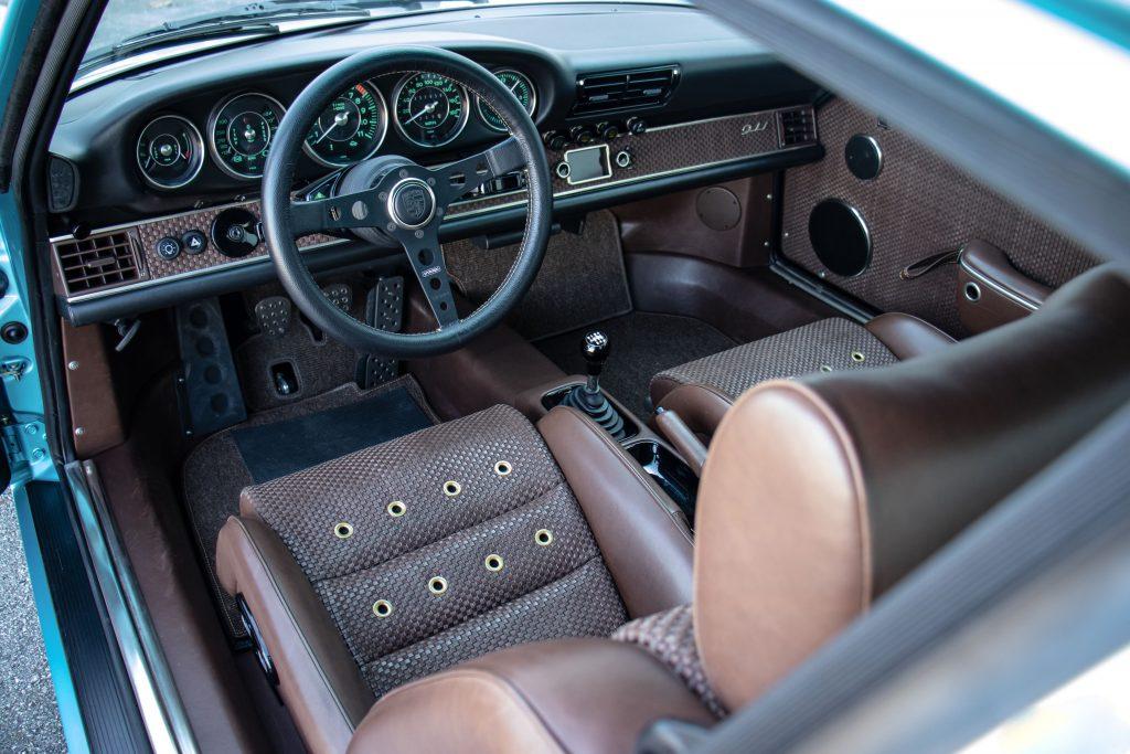 Porsche Singer reimagination car interior