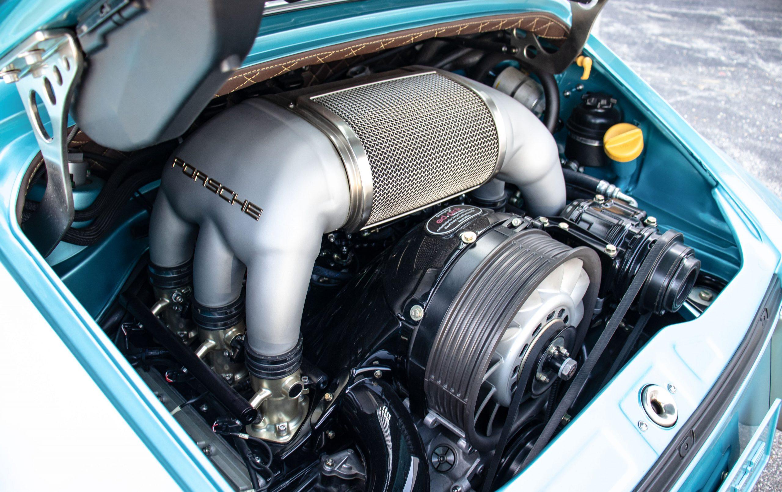 Porsche Singer reimagination car engine