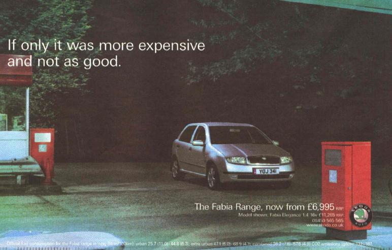 Skoda vintage ad