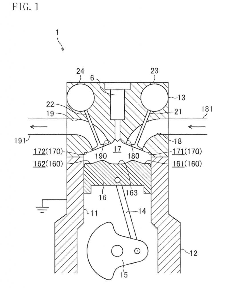 Engine flow patent