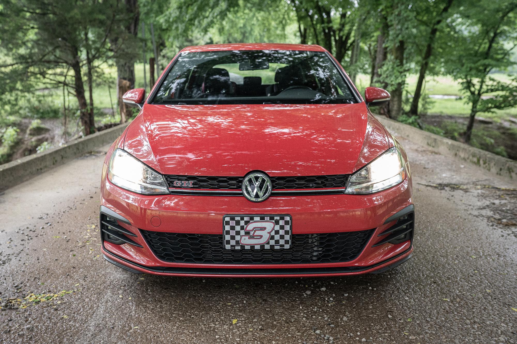 VW GTI front