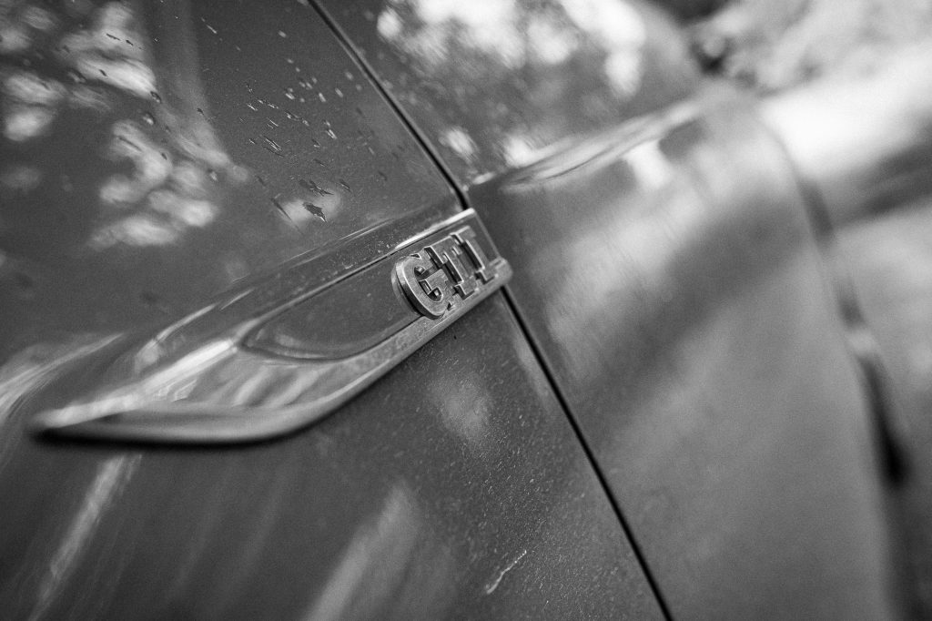 VW GTI badge