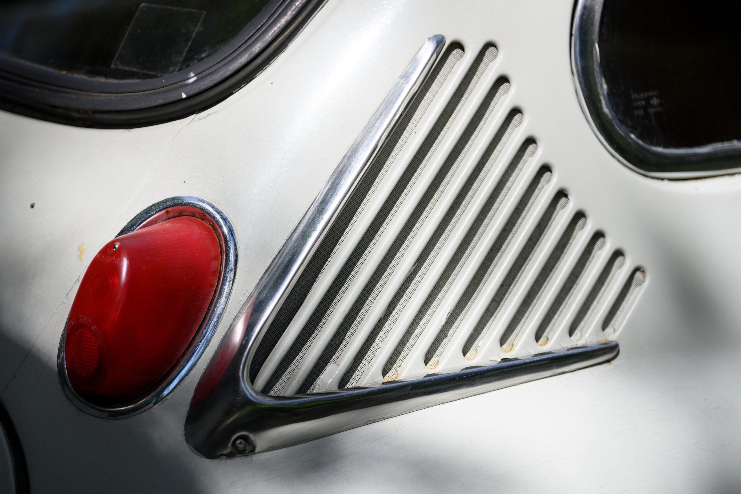 Subaru 360 vent detail