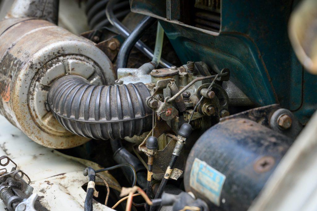 Subaru 360 engine detail