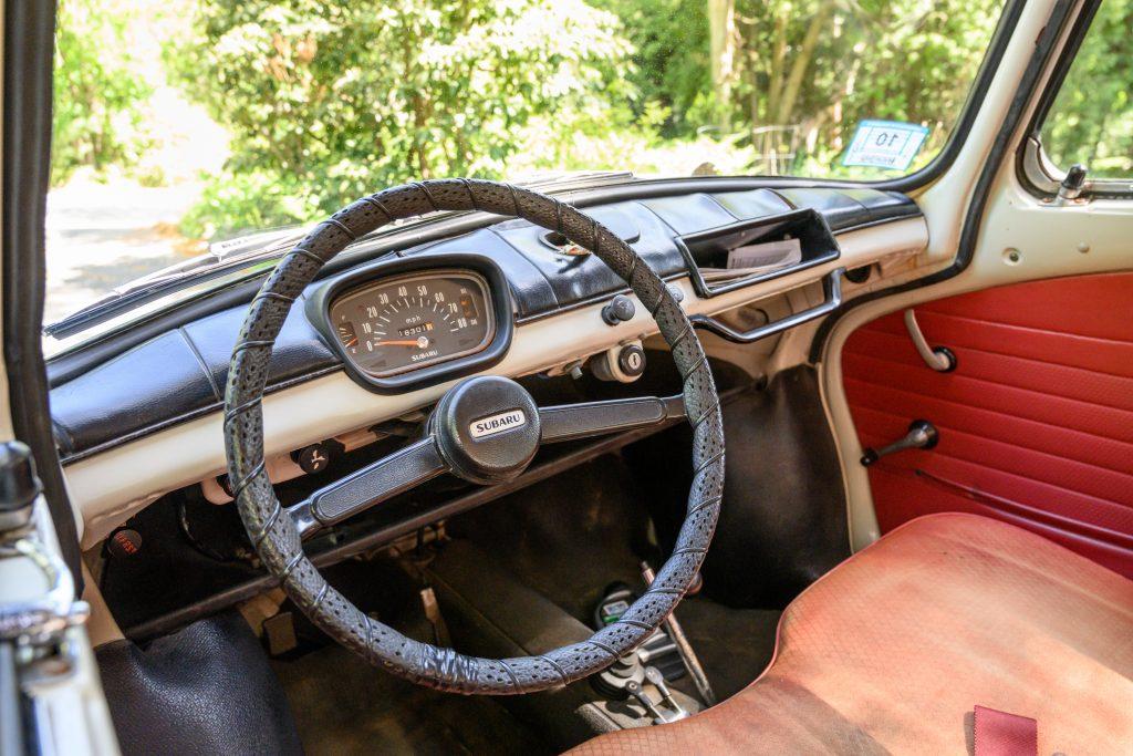 Subaru 360 interior