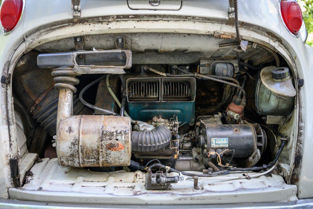Subaru 360 engine
