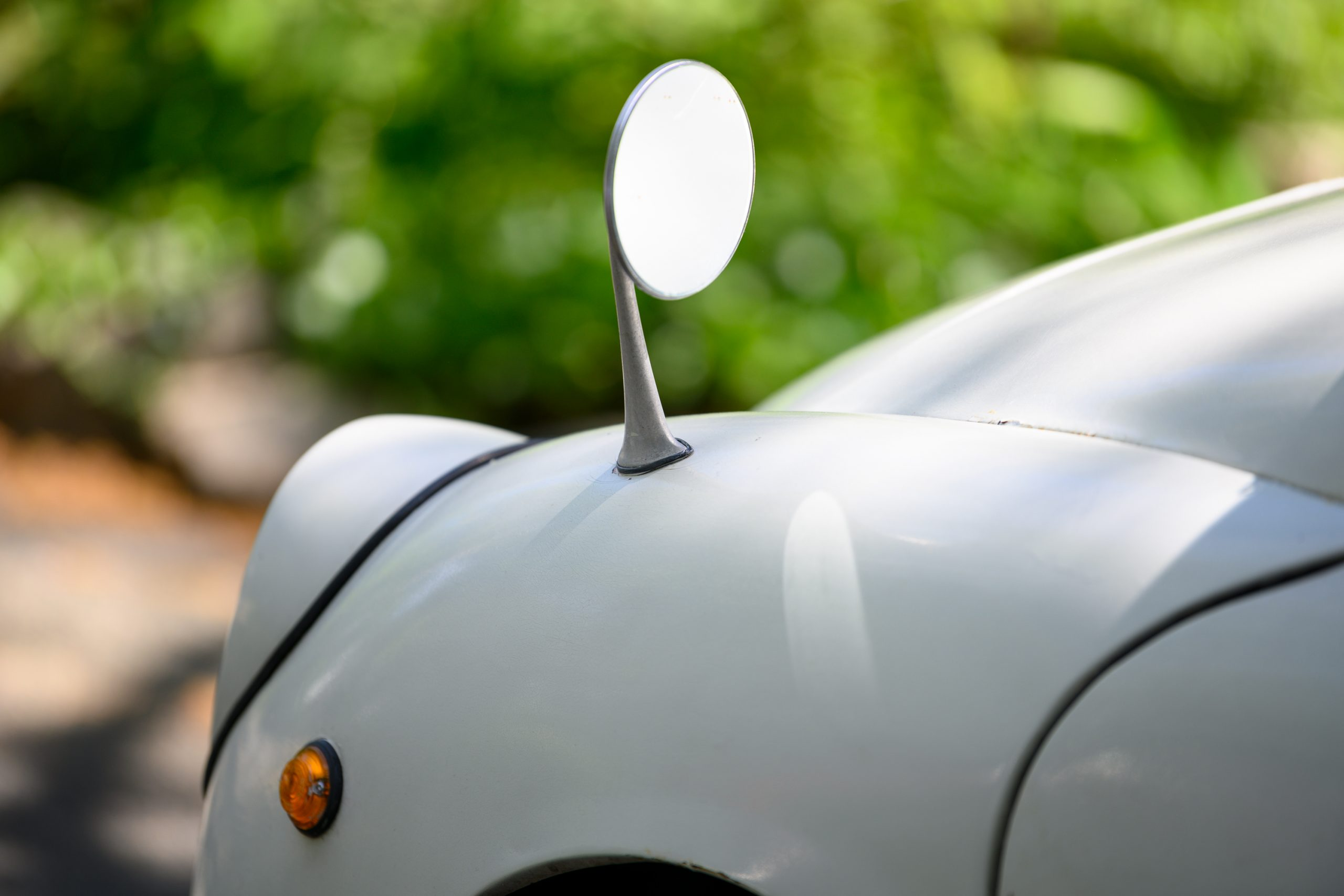 Subaru 360 mirror detail
