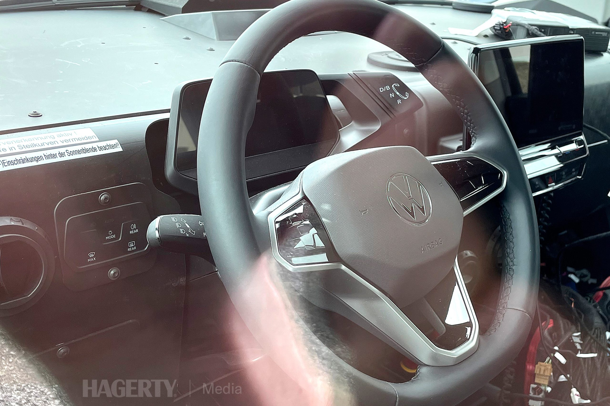 VW ID. Buzz Cargo interior