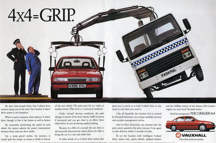 Vauxhall vintage ad