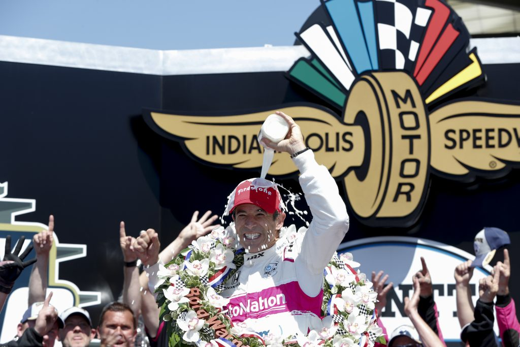 Helio Castroneves Indy 500 Victory