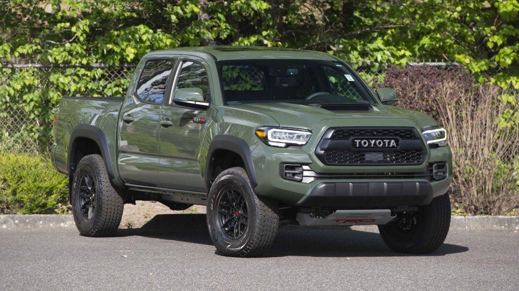 2020 Toyota Tacoma TRD Pro millionth auction mecum