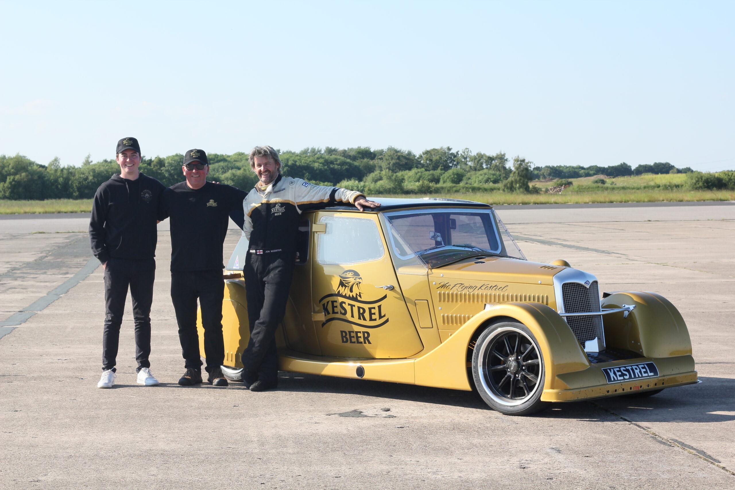 Riley Kestrel speed record car