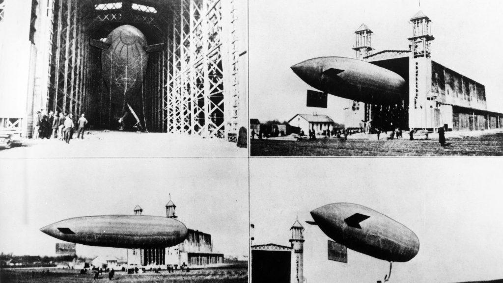 Austria's first aircraft—designed by Ferdinand Porsche