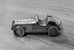 Monopoly car game piece