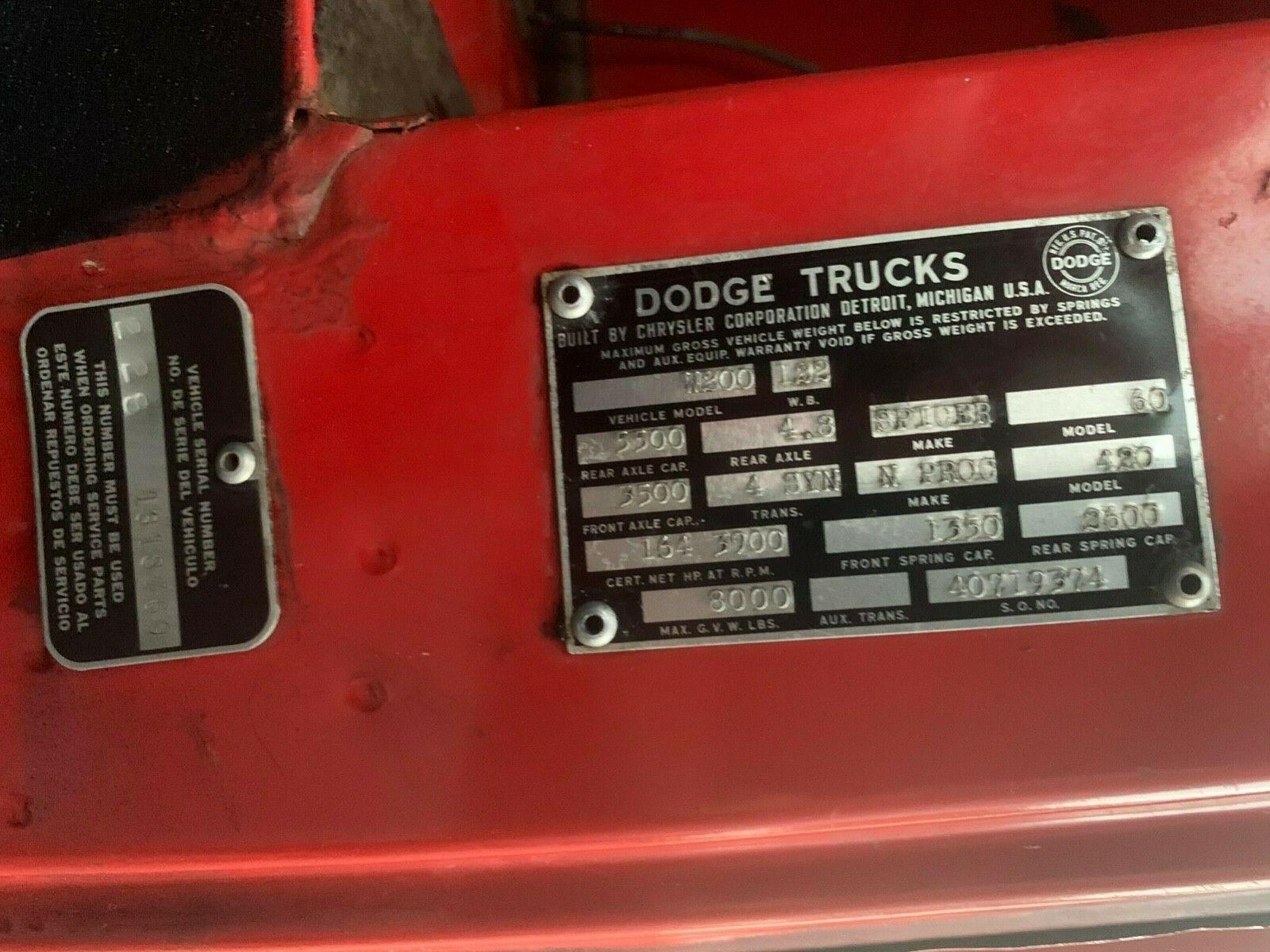 1964 Dodge W200 Power Wagon