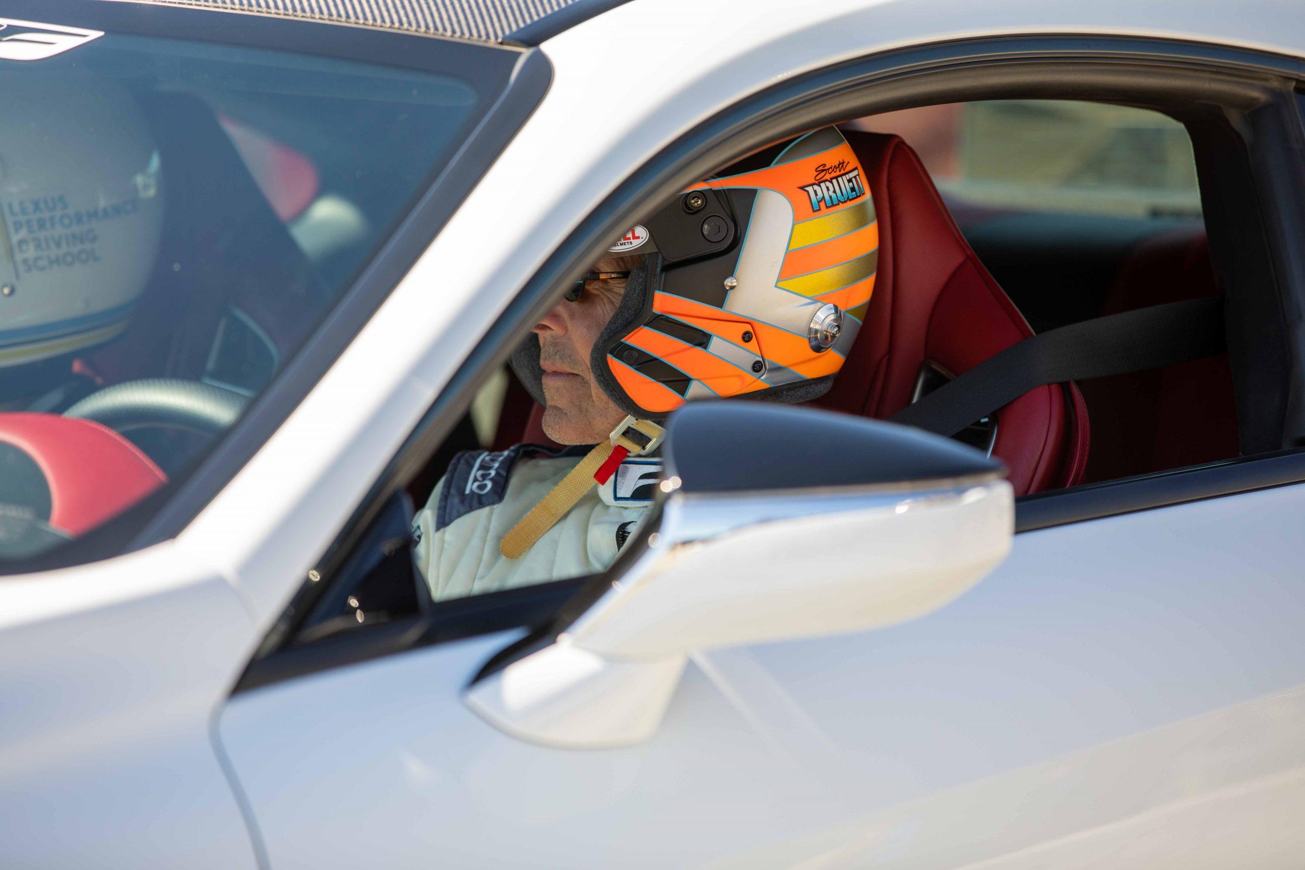 Scott Pruett Lexus Performance Driving School June 2021 Laguna Seca