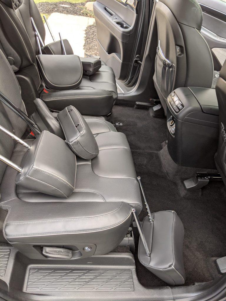 Car Odor Treatment Hyundai rear seats