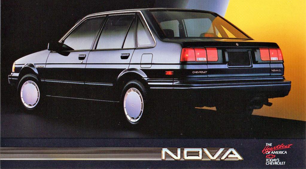 1987 Chevrolet Nova NUMMI