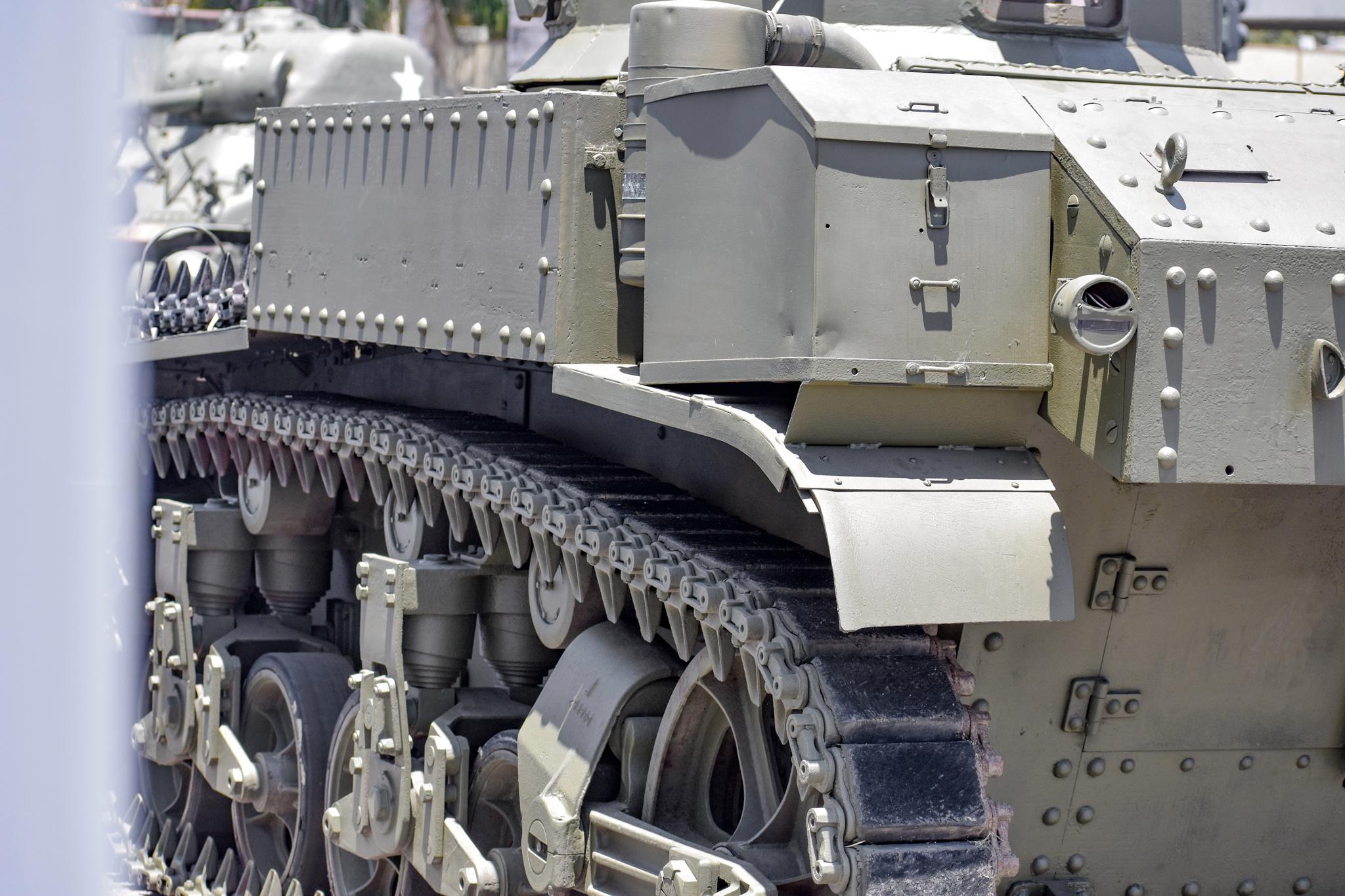 1941 M3 Stuart Tank body close