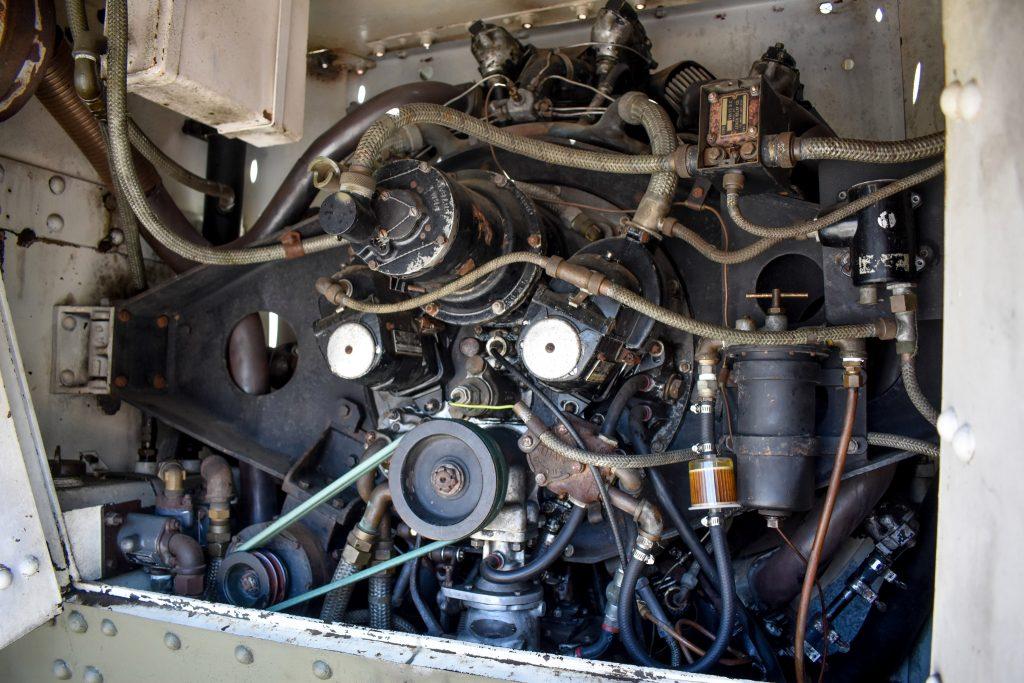 1941 M3 Stuart Tank engine