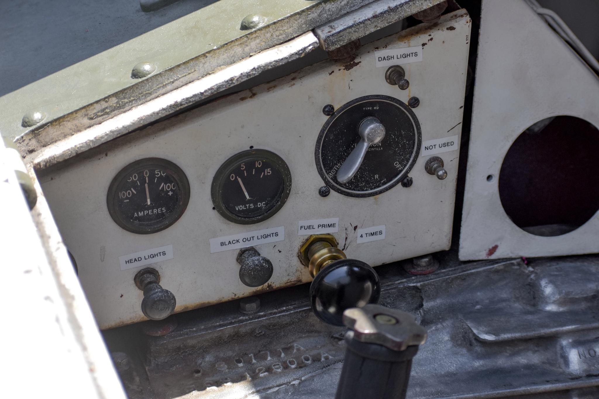 1941 M3 Stuart Tank gauges