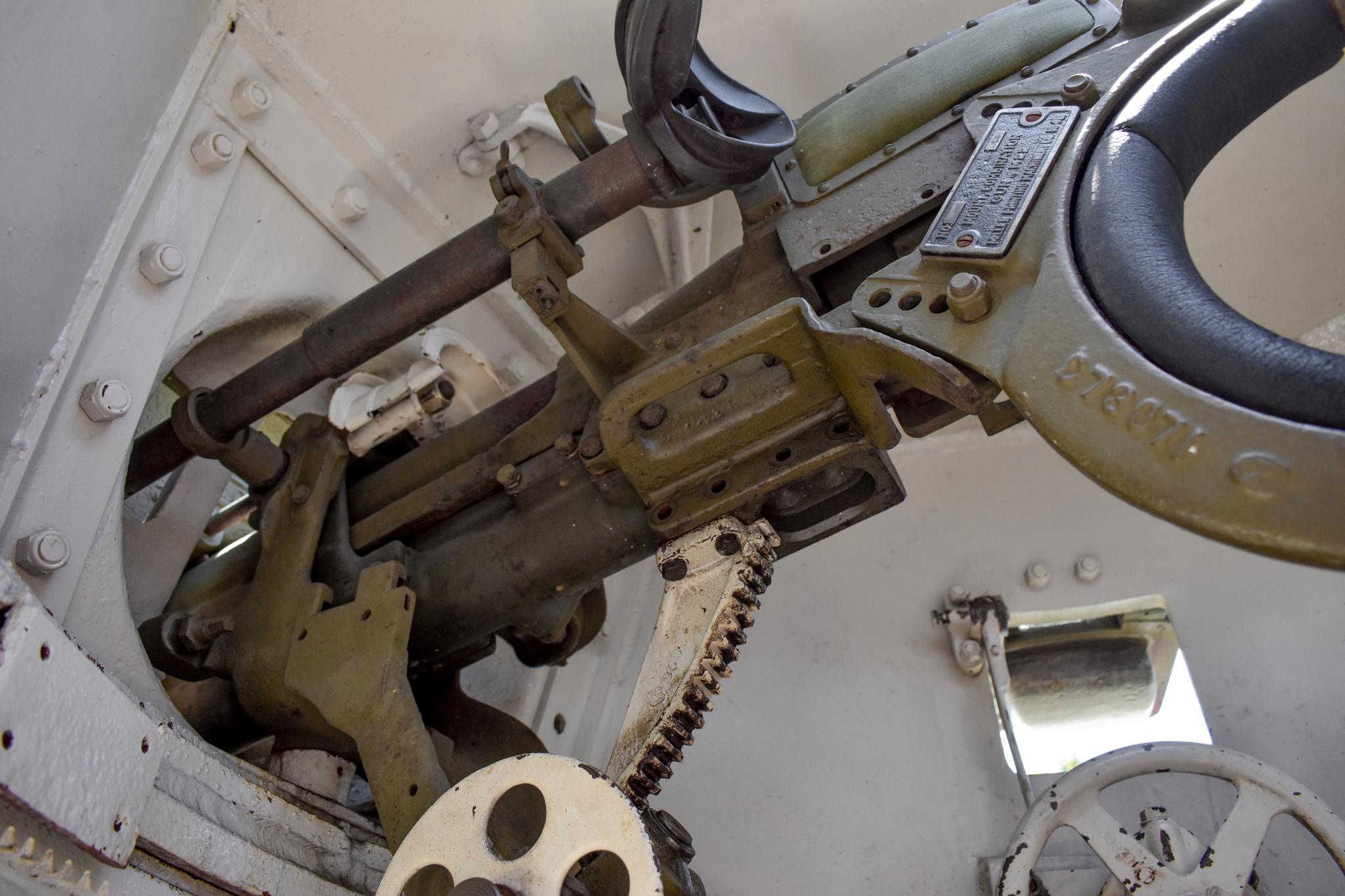 1941 M3 Stuart Tank gun close