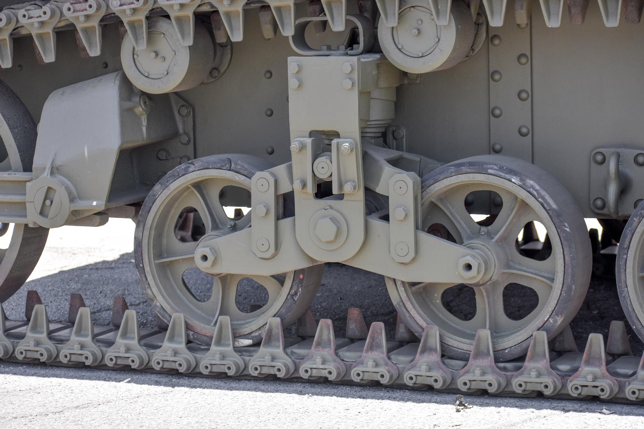 1941 M3 Stuart Tank tracks