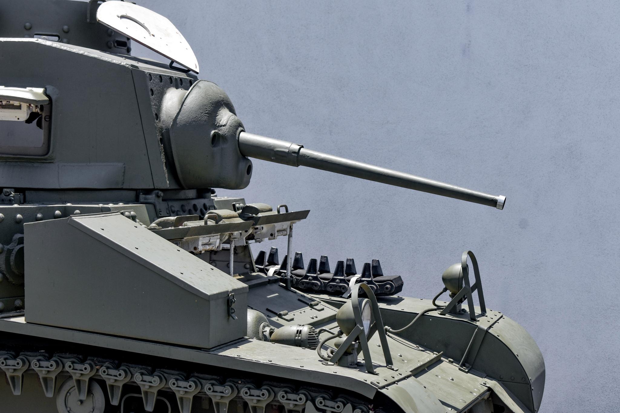 1941 M3 Stuart Tank turret