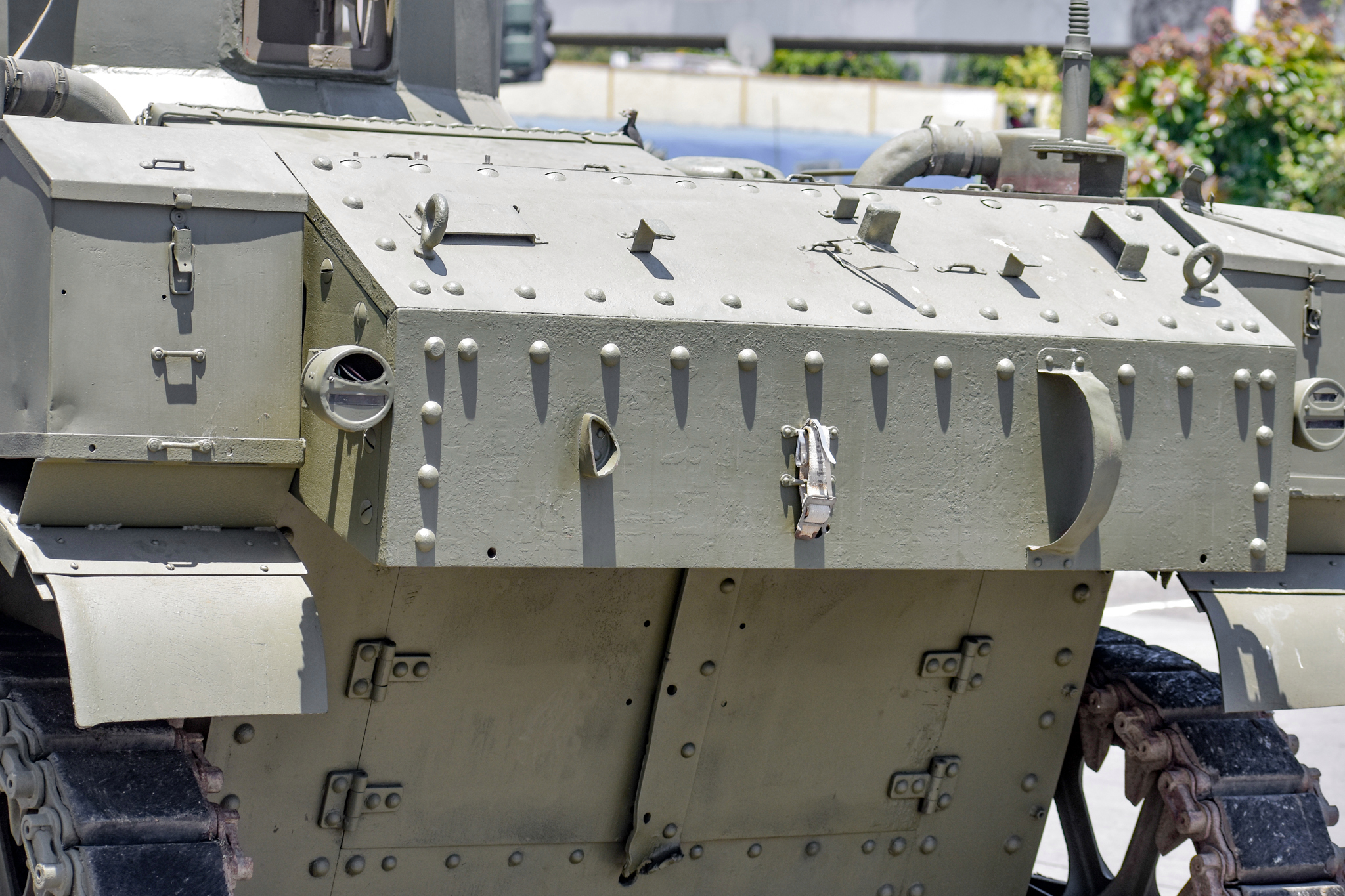 1941 M3 Stuart Tank rivets