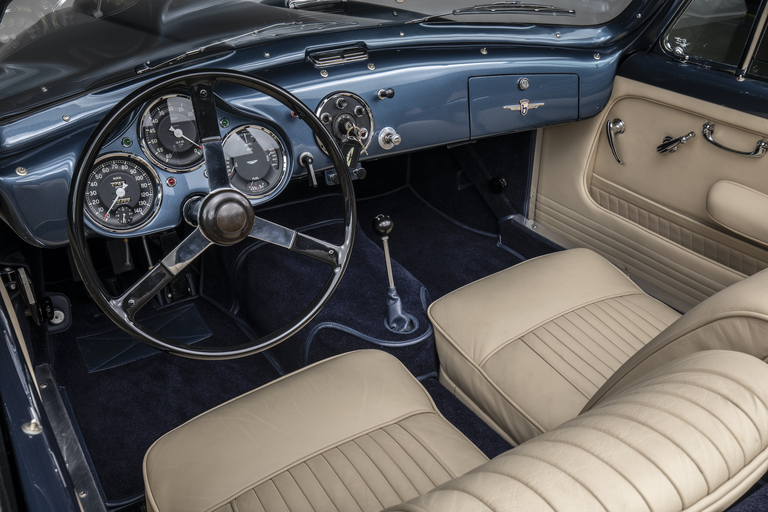 aston martin db4 drophead coupe bertone interior
