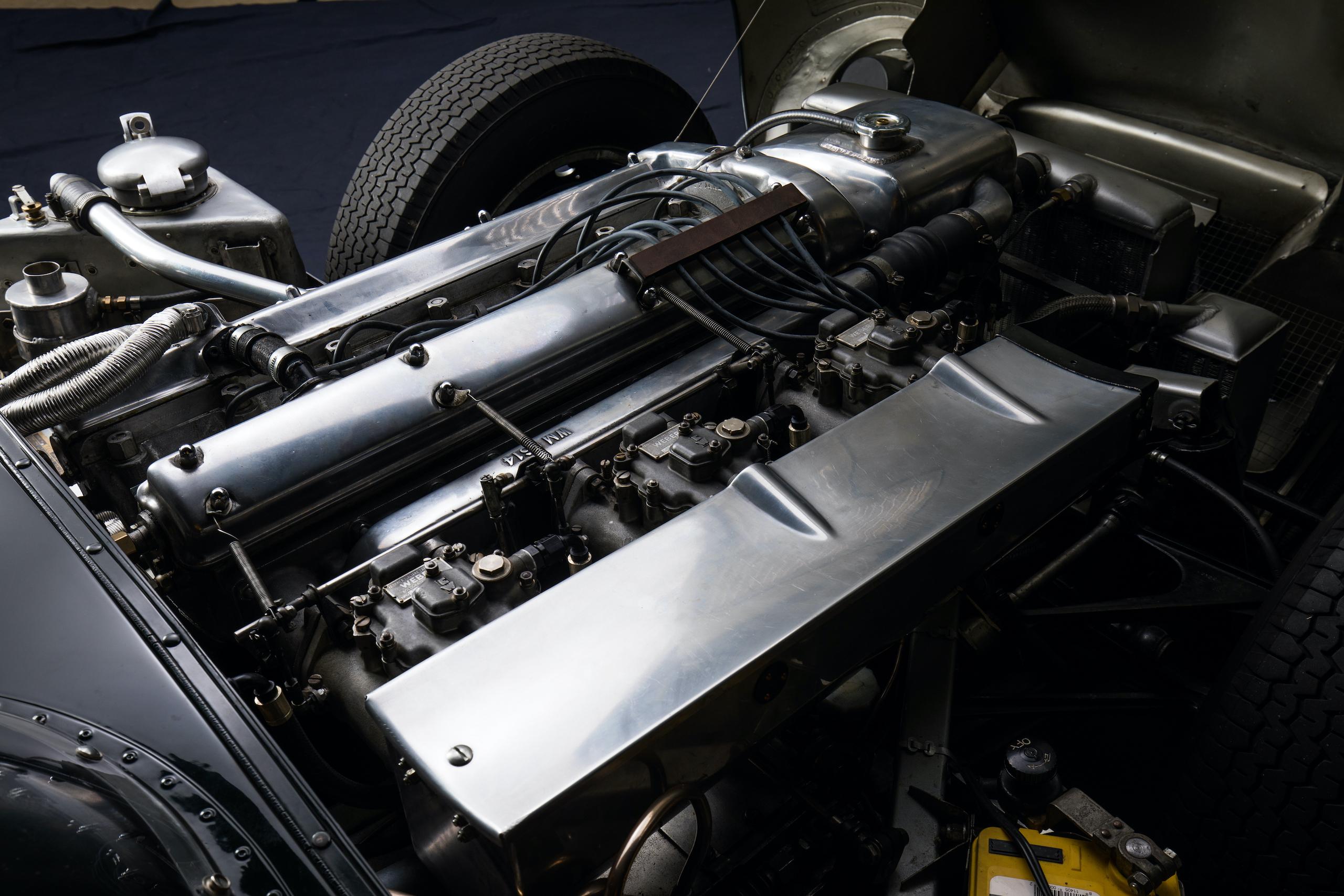 jaguar d-type engine