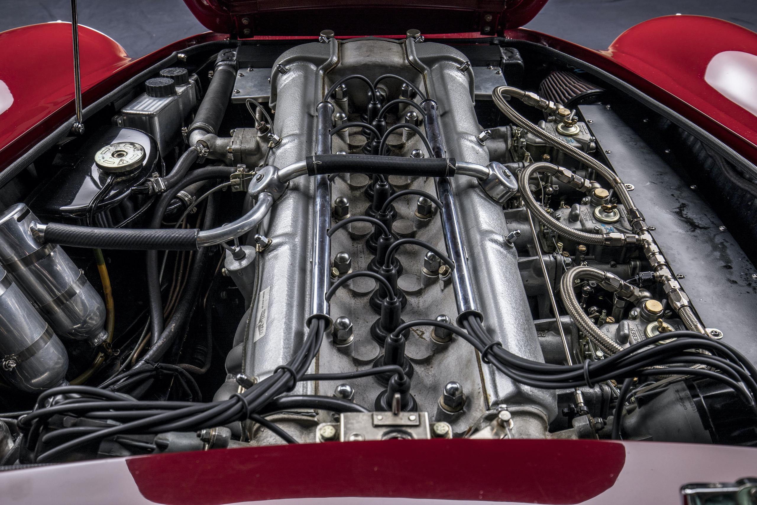 aston martin db4 gt lightweight engine