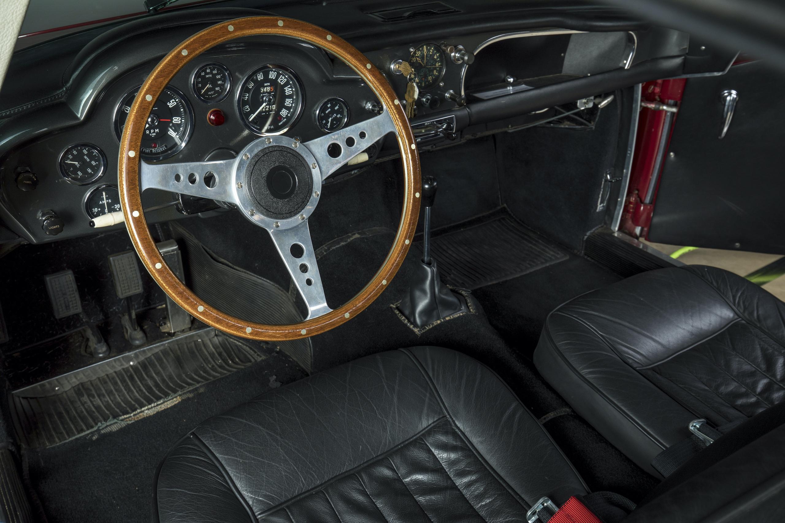 aston martin db4 gt lightweight interior