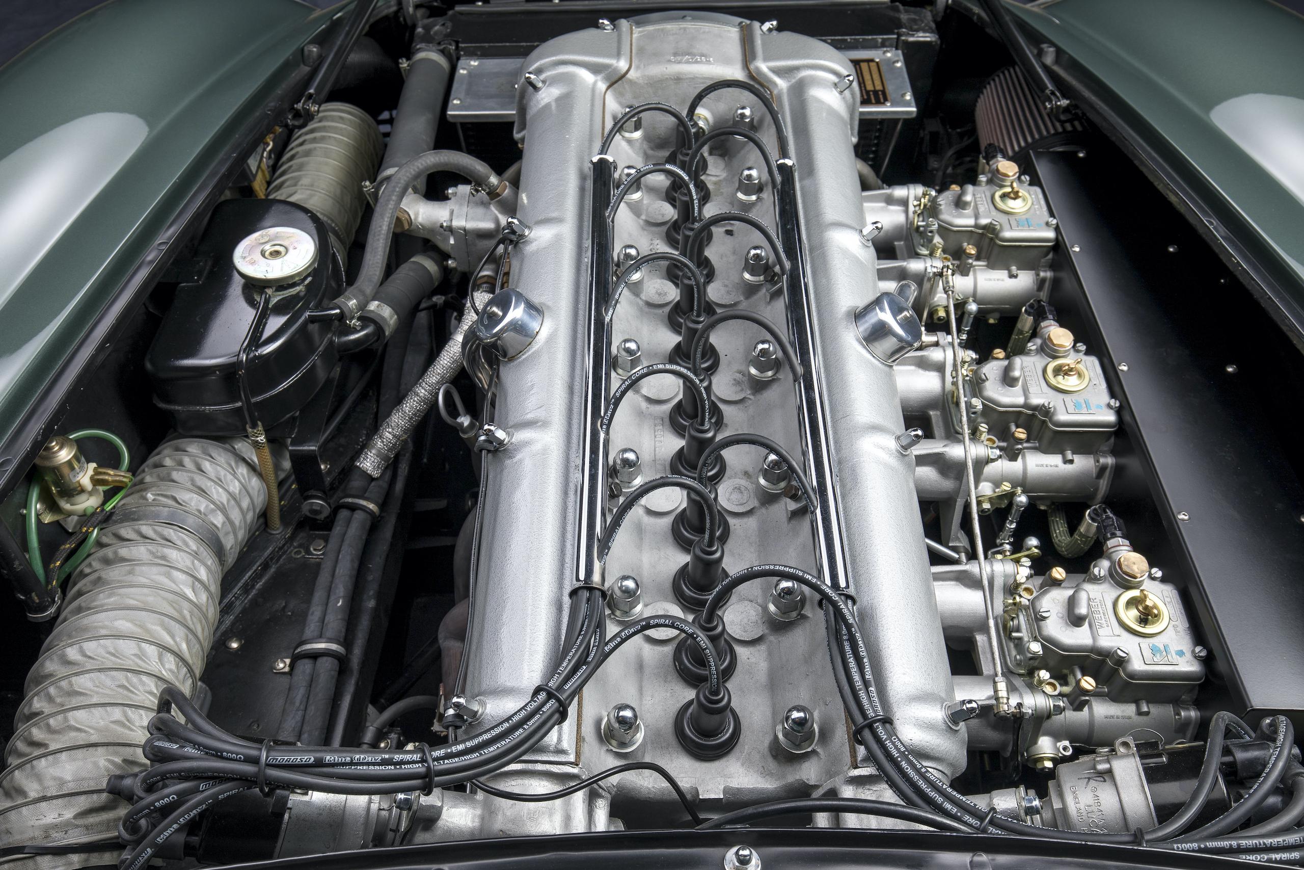 aston martin db4 gt sanction zagato engine