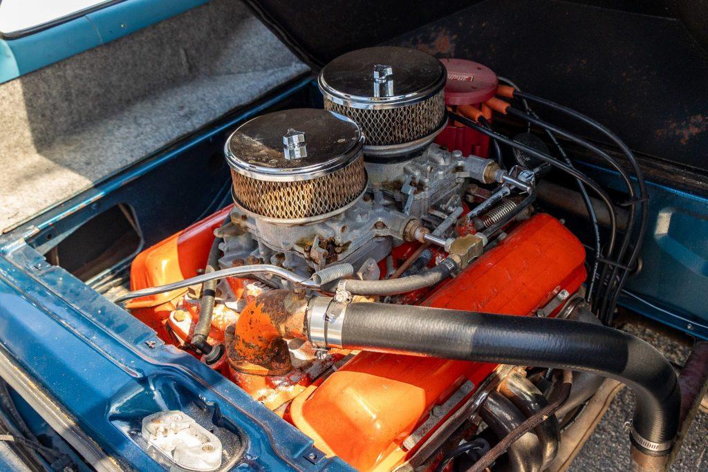 Corvair lakewood V8 engine