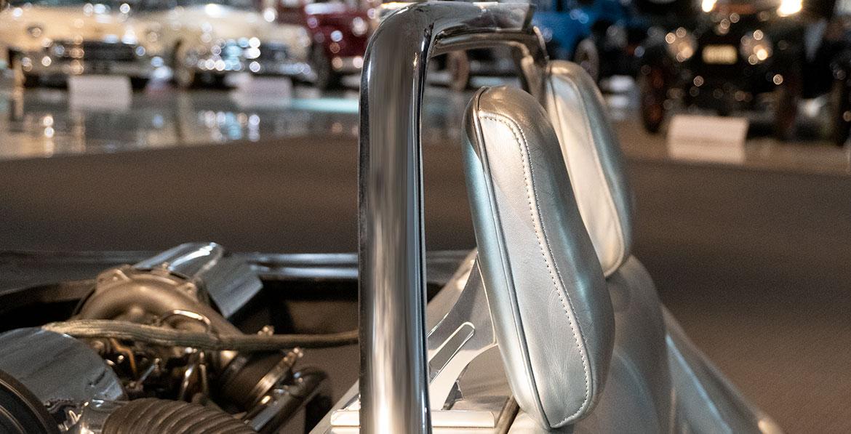 Chevrolet Corvair Monza GT headrest