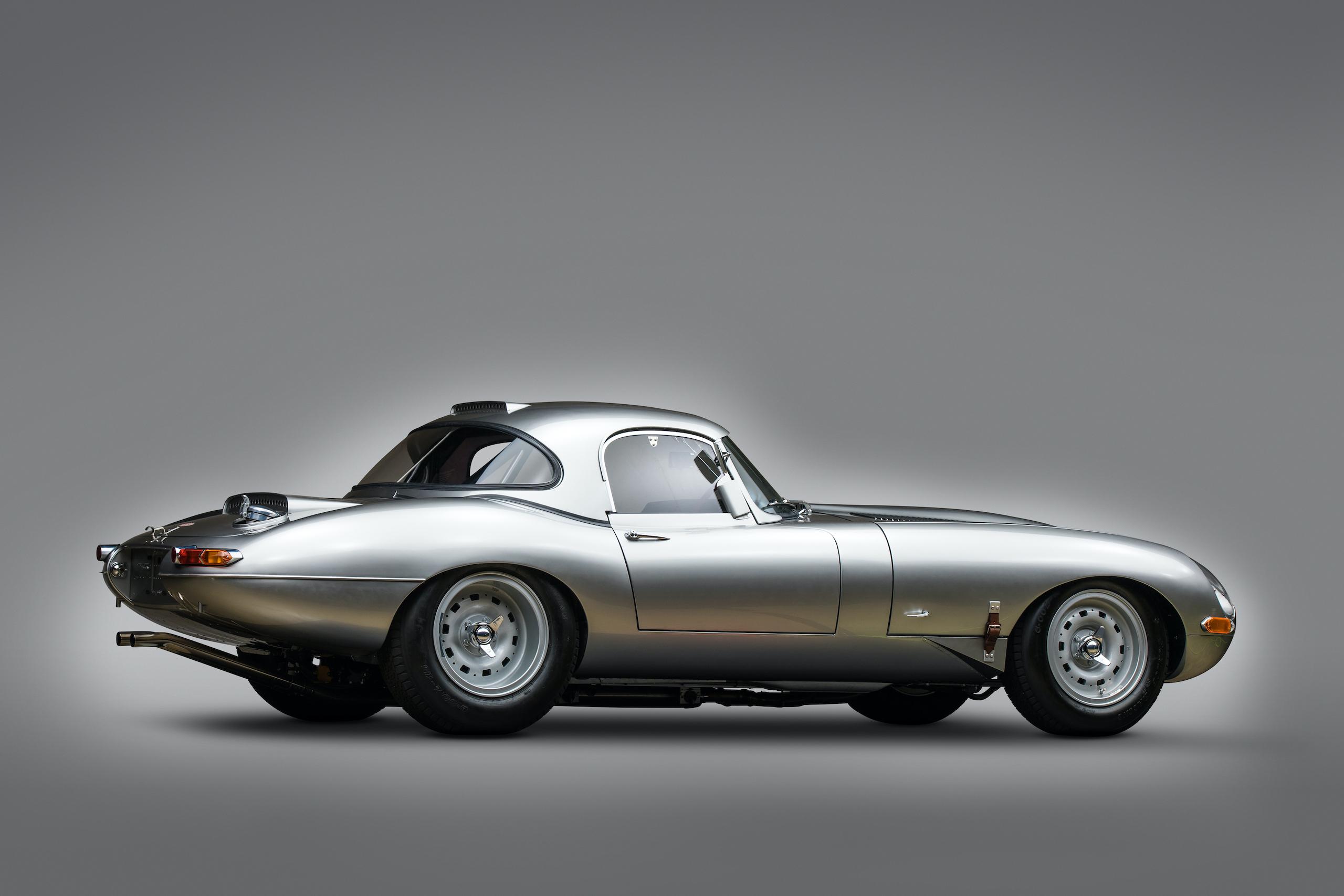 jaguar e-type lightweight continuation rear three-quarter