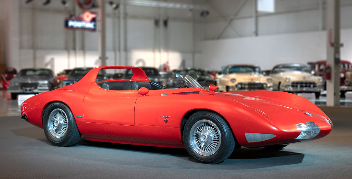 Chevrolet Corvair Monza SS front three-quarter