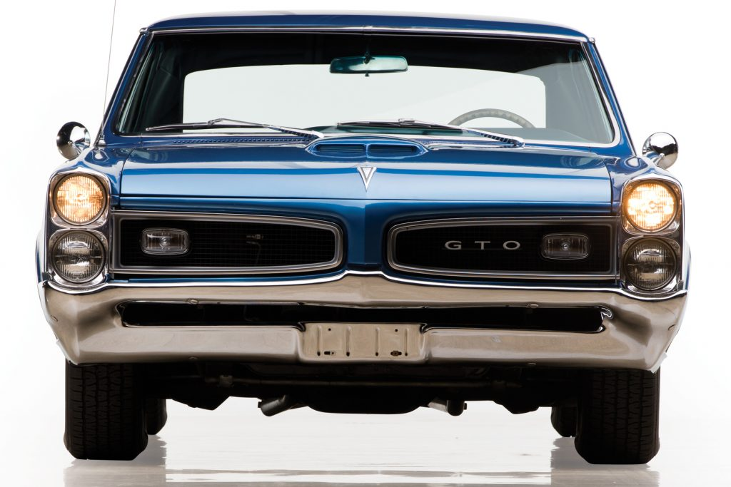 1966 GTO Hardtop Coupe front
