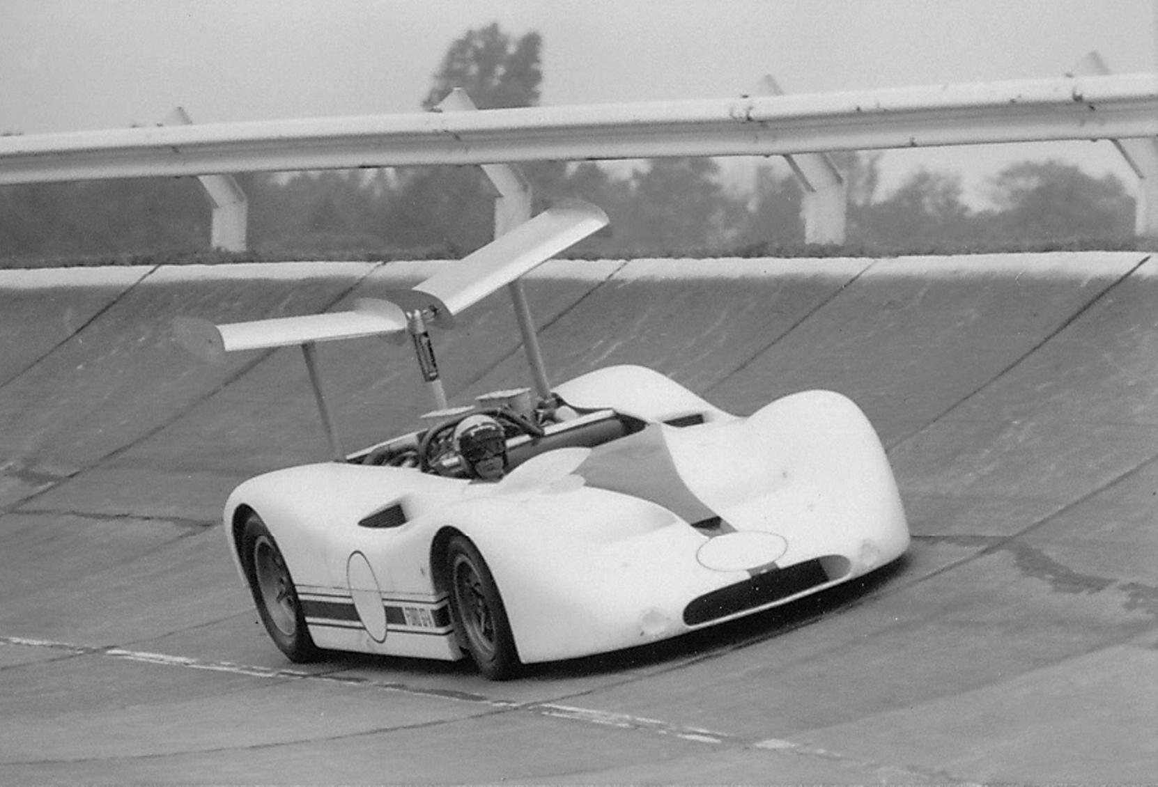1967 Ford GT40 MK IV in Can-Am form