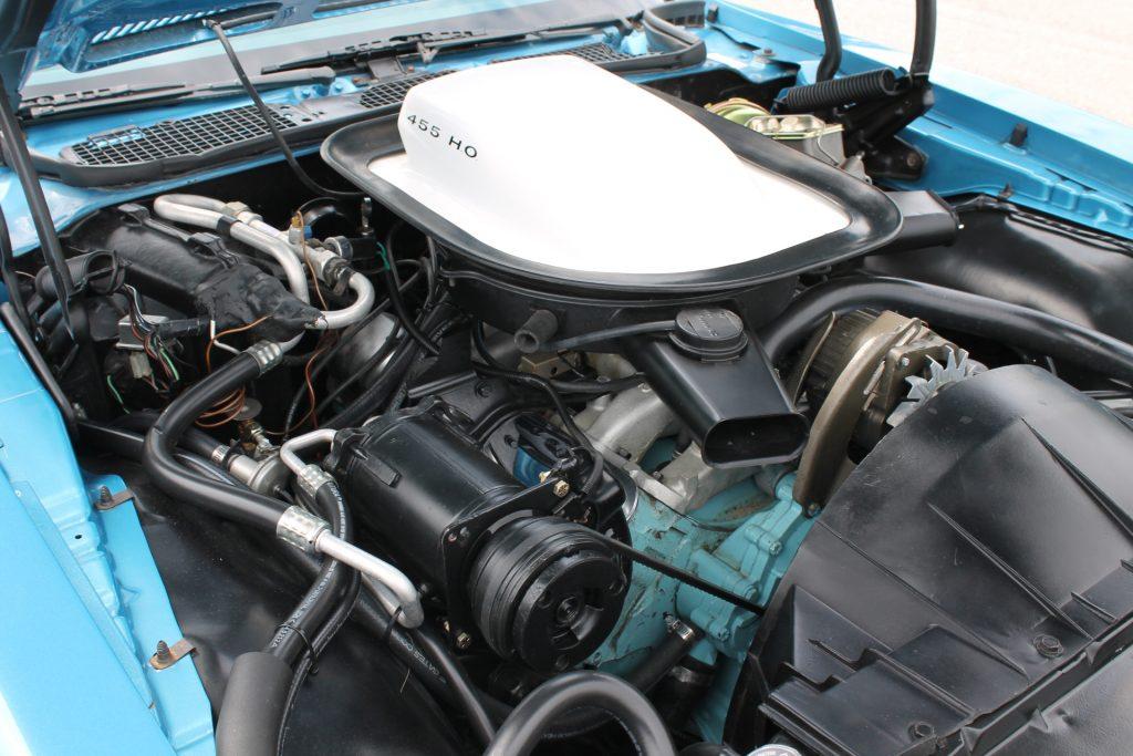 trans am 455 ho engine