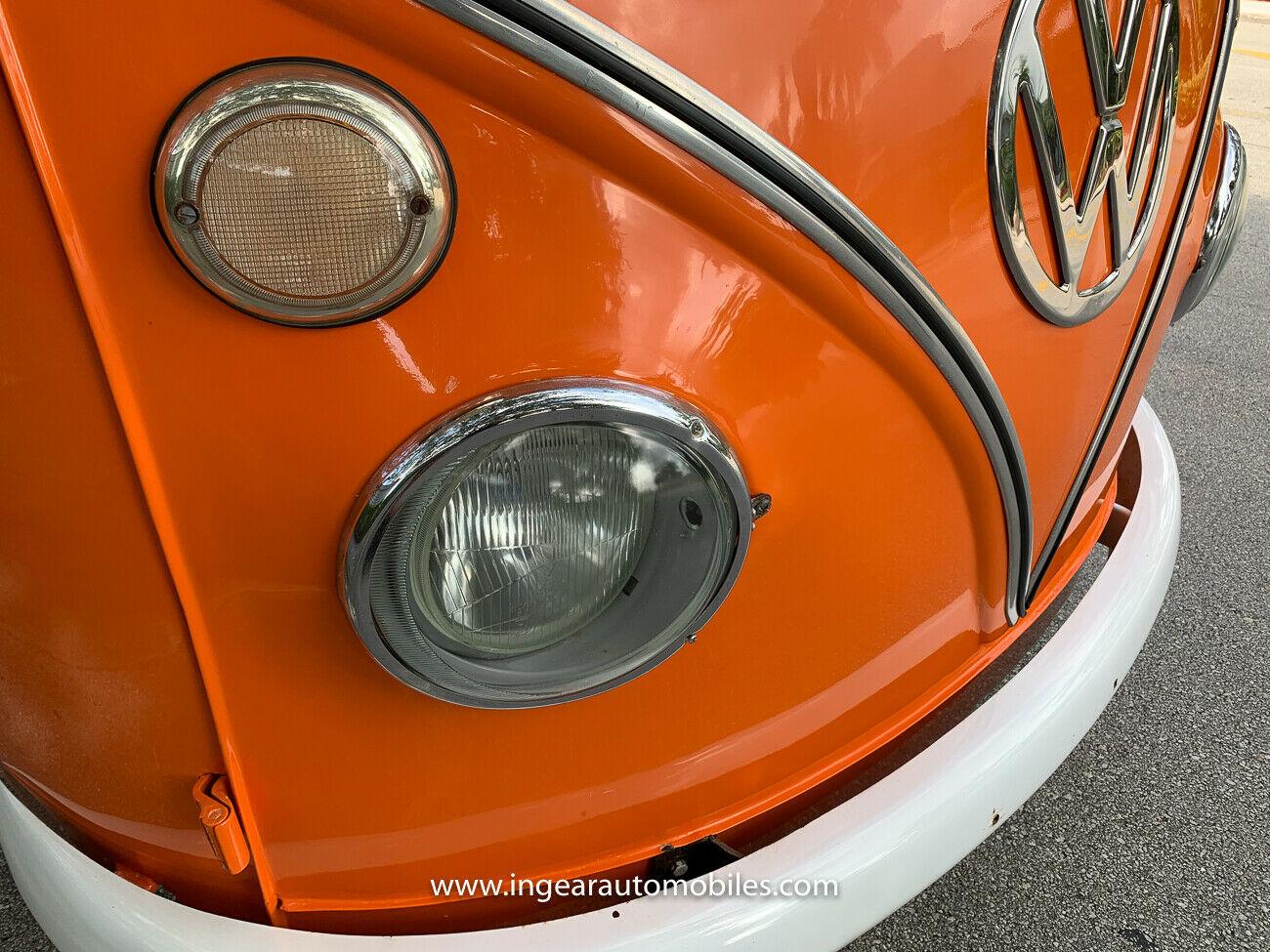 Volkswagen Bus Camper VW headlight