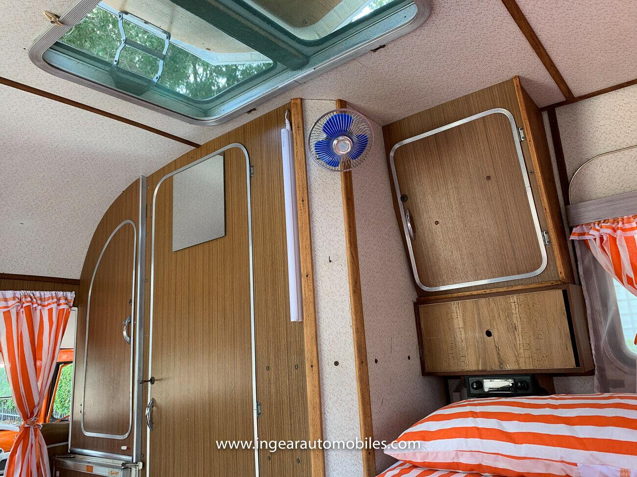 Volkswagen Bus Camper VW interior