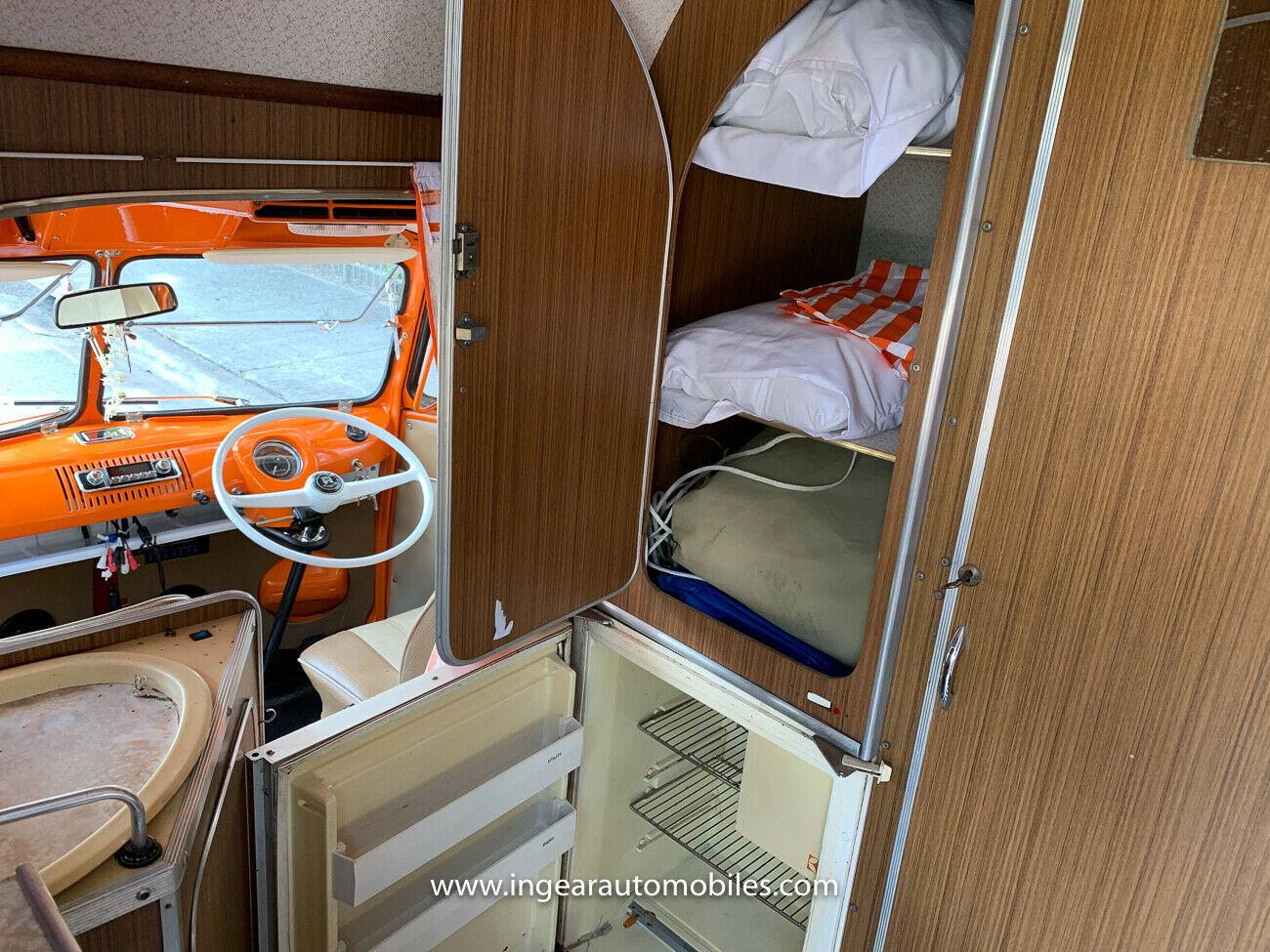 Volkswagen Bus Camper VW cabinets
